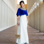 Holiday Collection with Naveda Couture: Blue Capelet
