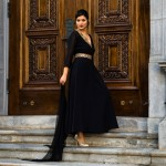 Holiday Collection with Naveda Couture: Black Tent Dress