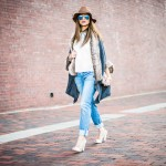 TRANSITIONING OVER TO SPRING WITH FUR AND HAT