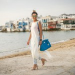 GREECE DIARIES – PURE SIMPLICTY TUNIC TOP